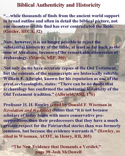 Bible Authentisity text on Bet_She'an Theatre Image