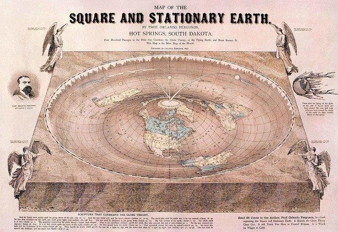 Orlando Ferguson Flat Earth Map B