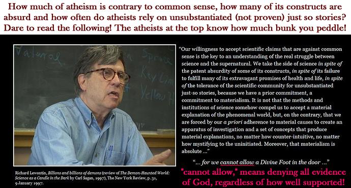 Atheism_Richard Lewontin 2ya