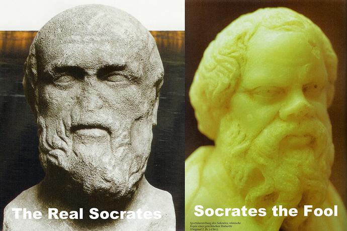 SocratesTwoFaces