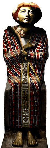 Statue at Tell el-Daba possibly Joseph